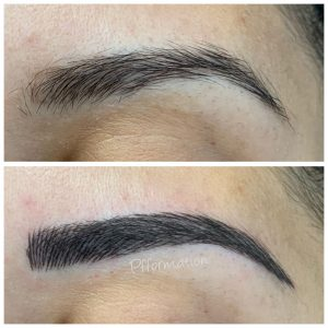 Maquillage permanent microblading